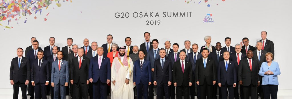 Class photo of world leaders at the G20 summit