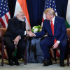 Modi and Trump at UN General Assembly