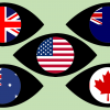 Five eyes, USA, UK, New Zealand, Canada, Australia