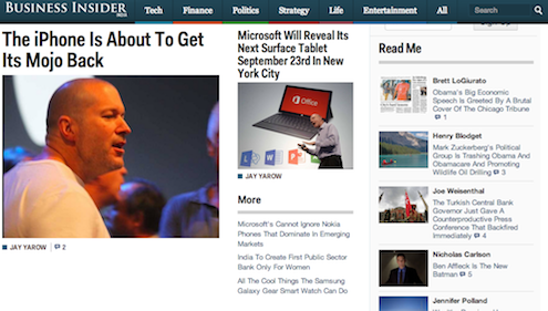 Business Insider India Homepage