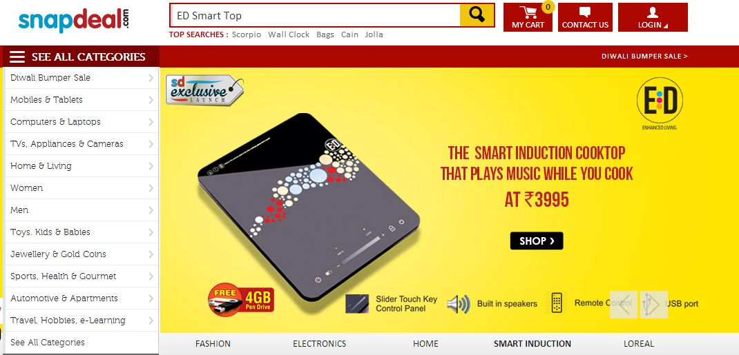 ED Smart Top Snapdeal