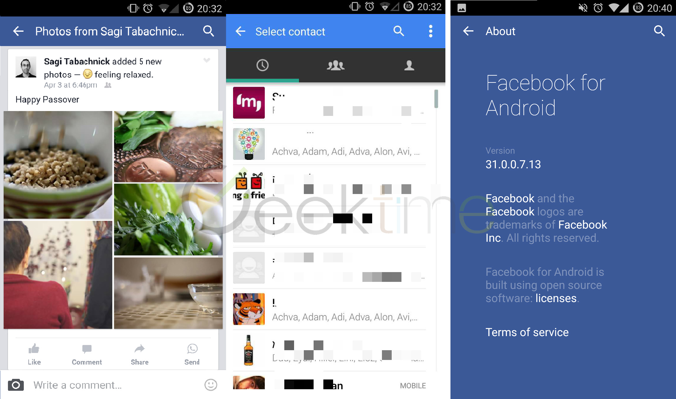 Facebook and whatsapp integration 2