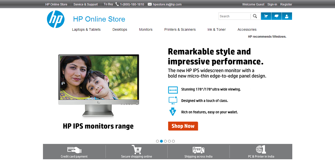 HP ONLINE STORE INDIA