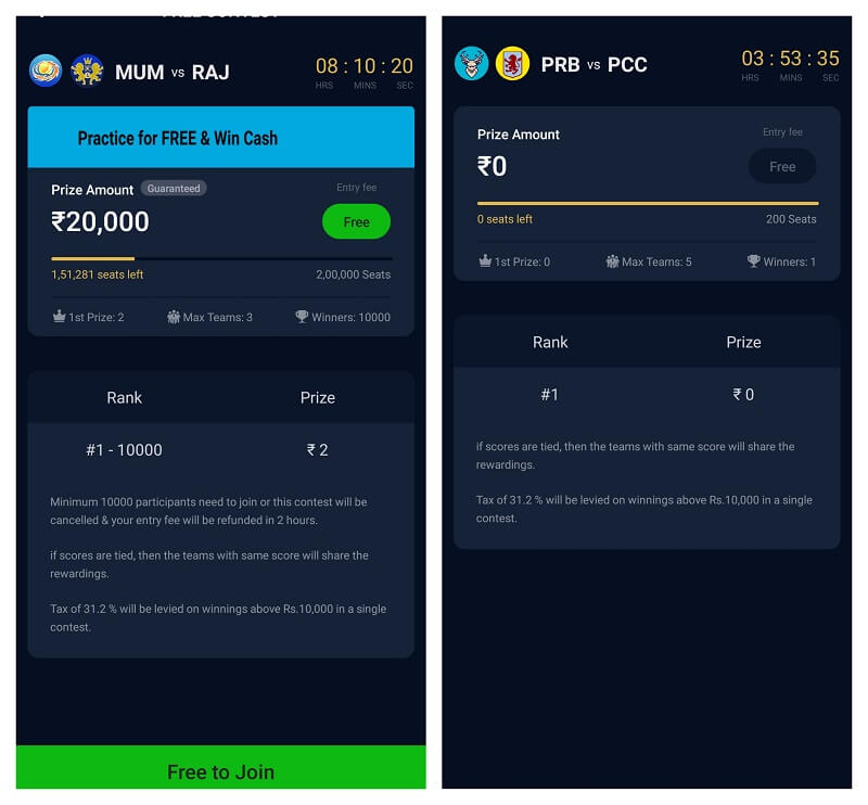 How fantasy gaming app Paytm First Games Play Store Version app works