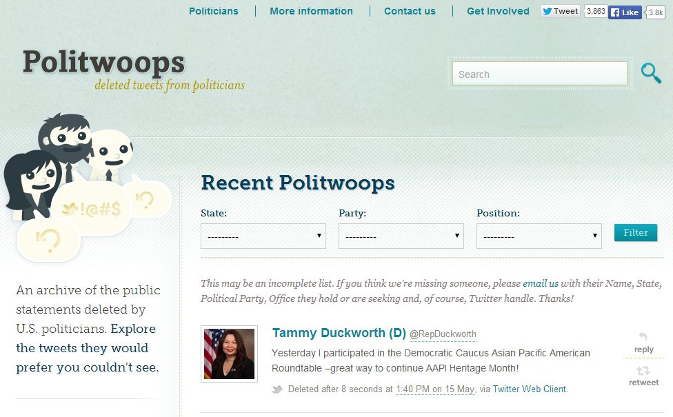 Politwoops