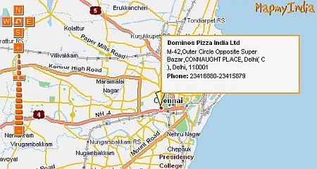 Connought Place In Chennai?