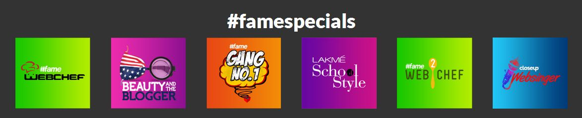 fame online reality series