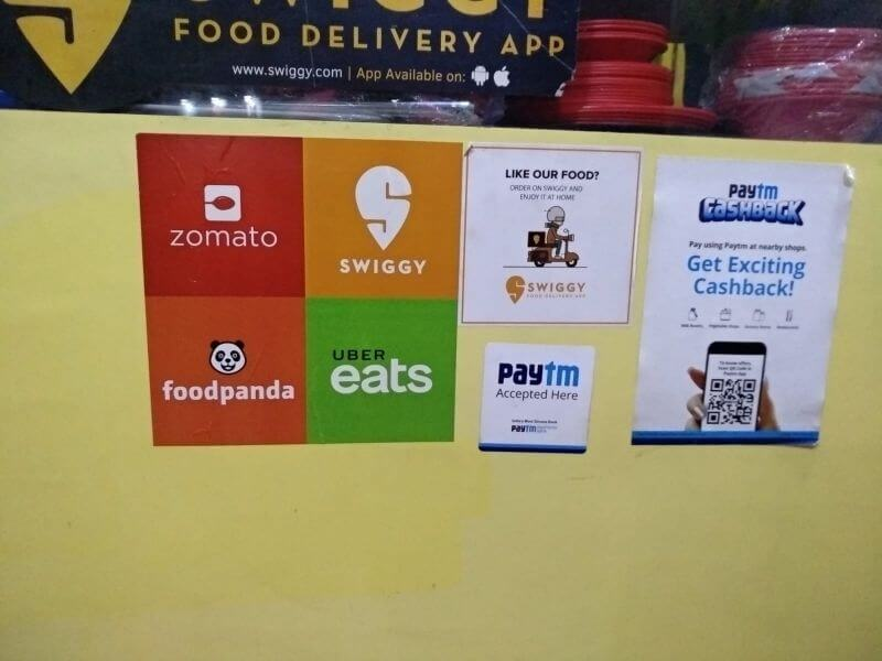 Food delivery apps in India