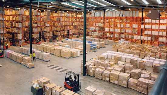 https://en.wikipedia.org/wiki/Logistics#/media/File:Modern_warehouse_with_pallet_rack_storage_system.jpg
