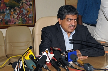 Photo of Nandan Nilekani