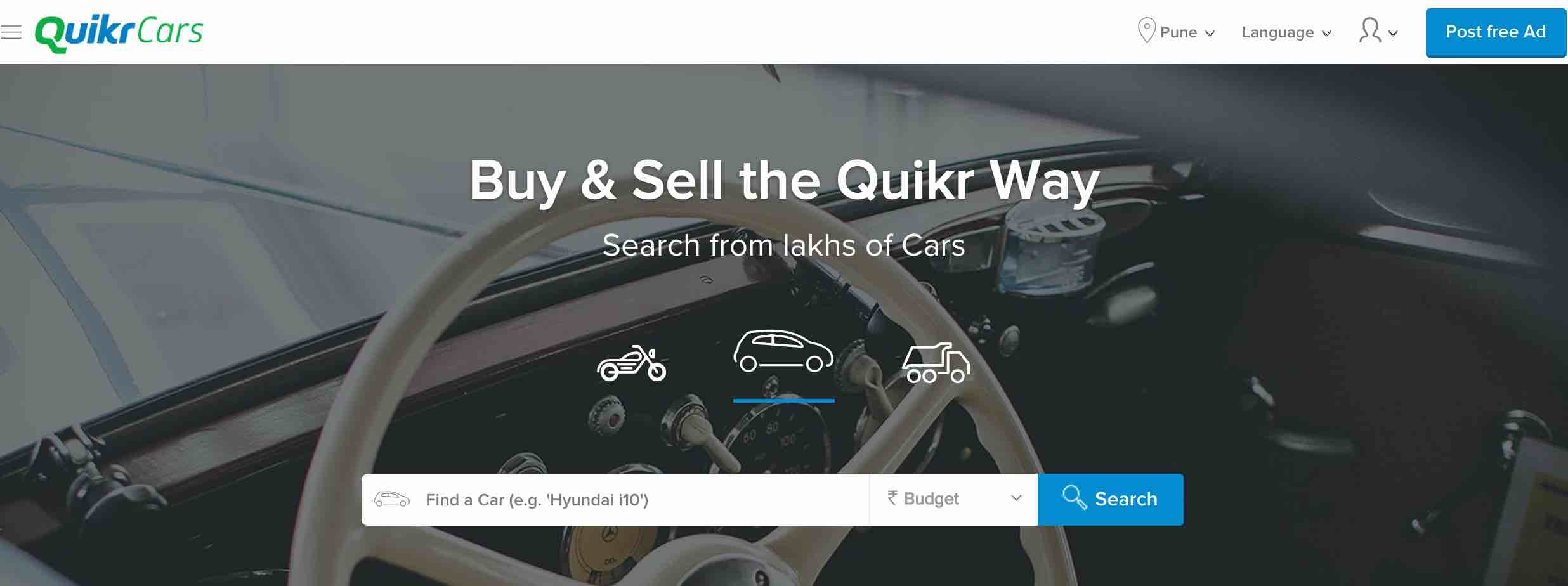quikrcars