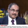 Screenshot of RS TV interview of Ajay Prakash Sawhney