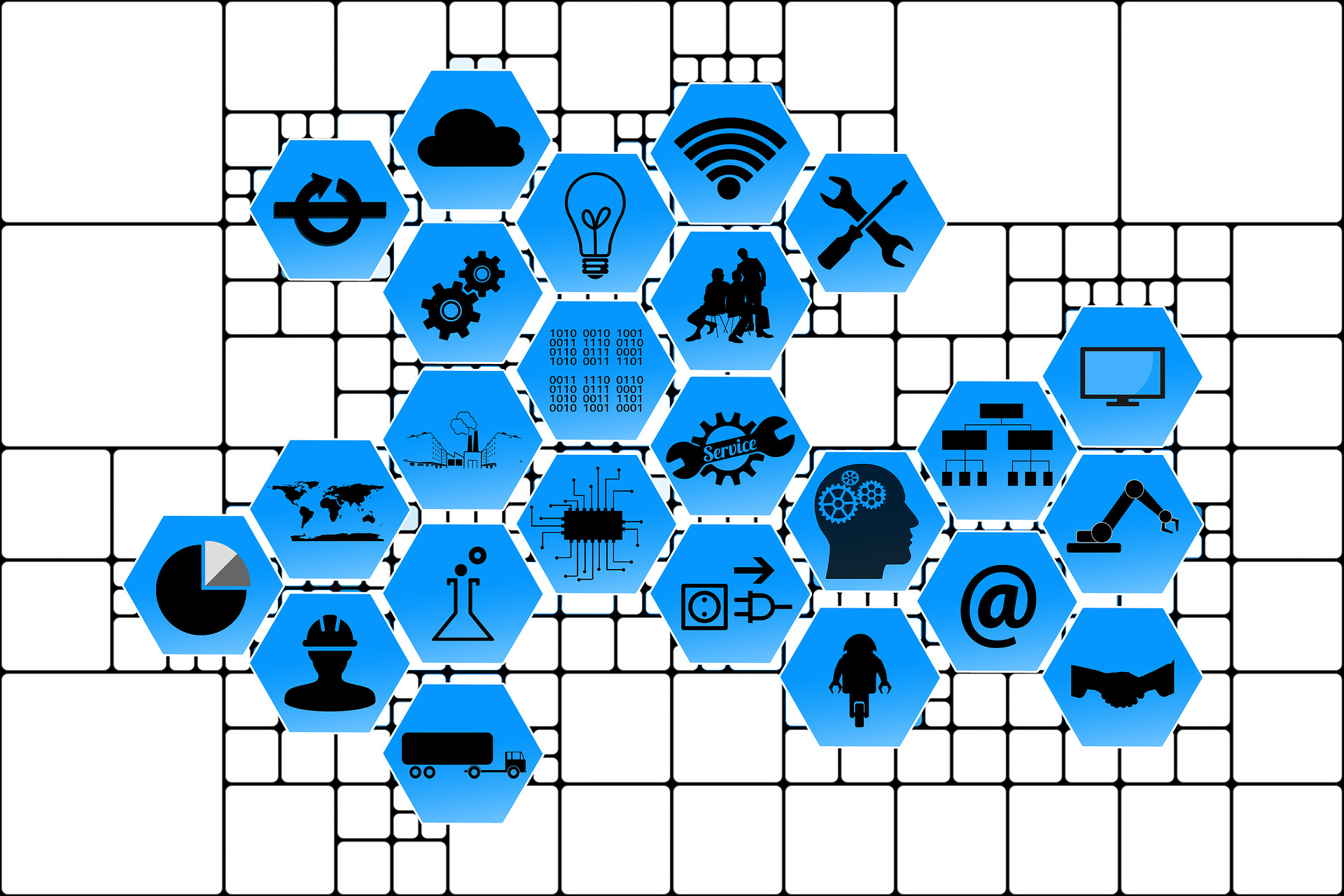 Internet of things, connected web internet