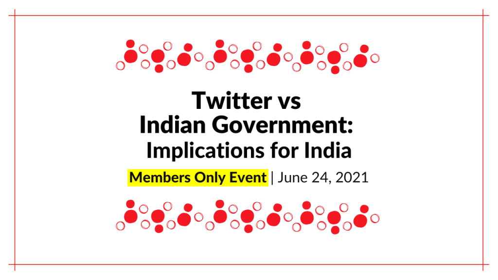 Twitter vs Indian Govt: Implications for India